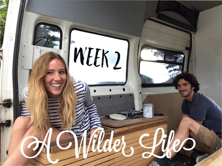 A wilder life van conversion project for a road trip in France