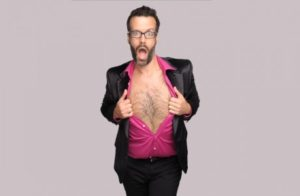 Marcus Brigstocke comedy in Cornwall what's on in Cornwall events in Cornwall a wilder life
