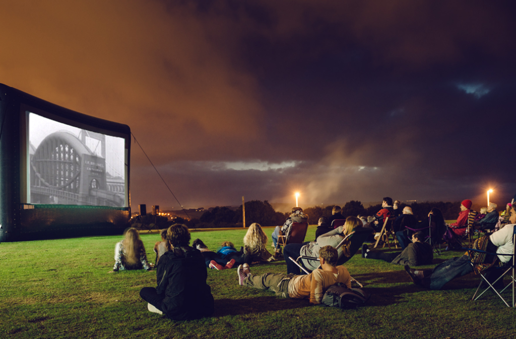 outdoor cinema events in Cornwall Summer 2017